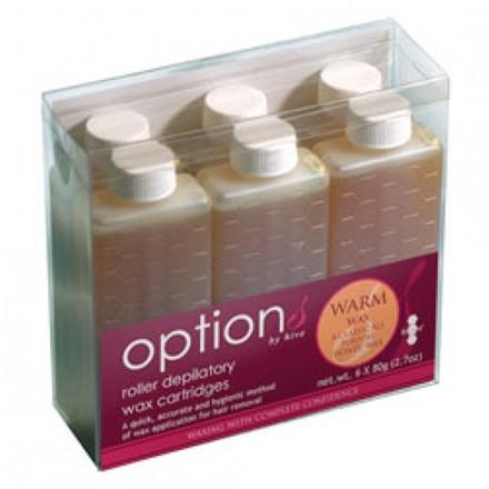 Hive Warm Honey Wax Roller Depilatory Refill, Pack/ 6