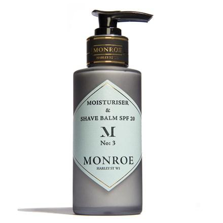 Monroe Moisturiser and Shaving Blam, SPF20 - 100ml