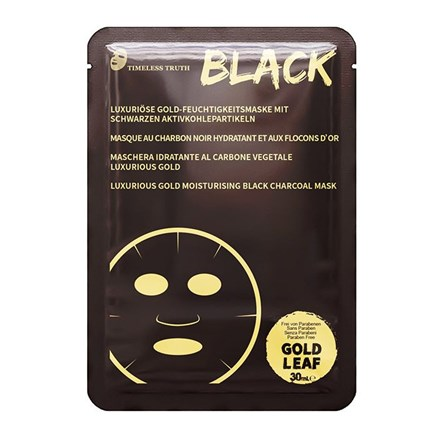 Timeless Truth Luxurious Gold Moisturising Black Charcoal Mask
