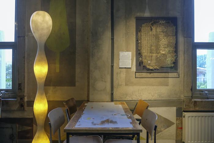 Hyper Rhizome in het restaurant van Villa Augustus