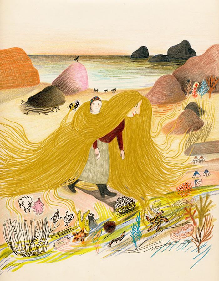 Illustratie uit 'Mama Medusa'