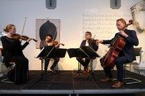 Mantangi Quartet, foto door Ries van Wendel de Joode