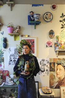 Portret Natalie Lete In Galerie Herfst 2014 Tot Ries Van Wendel De Joode