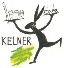 Kelner voor de zomermaanden