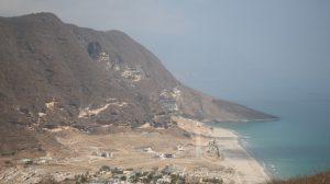 تقسيم ولاية المزيونة في سلطنة عمان