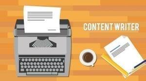 وظيفة كتابة محتوى