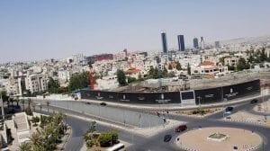 منطقة الدوار الخامس في محافظة عمان