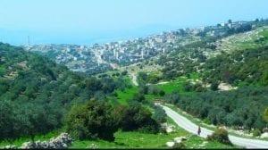 منطقة كفر الماء في محافظة إربد