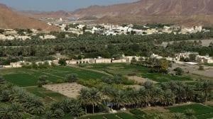 تقسيم مدينة بدبد في سلطنة عمان