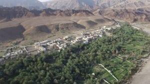 تقسيم ولاية الكامل والوافي في سلطنة عمان