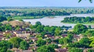 مدينة الجنينة في السودان