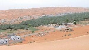تقسيم ولاية بدية في سلطنة عمان