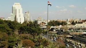 مدينة دمشق في سوريا