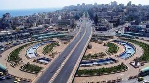 مدينة القرداحة في سوريا