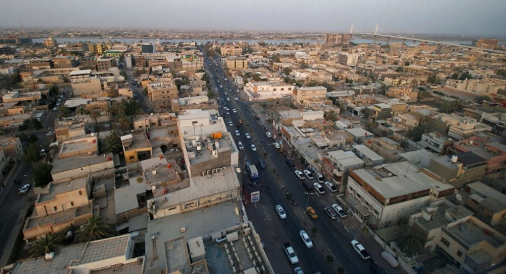 مدينة سفوان في محافظة البصرة