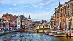 أين تقع أمستردام