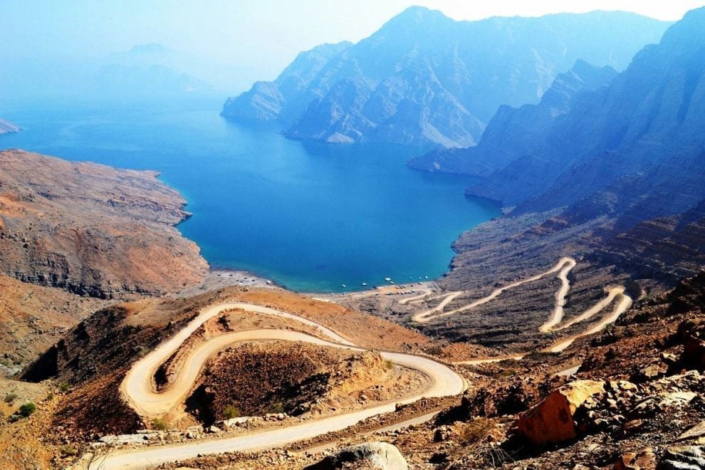 تقسيم ولاية خصب في سلطنة عمان