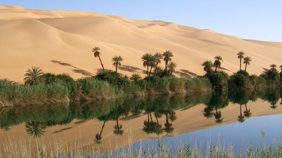 مقاطعة وادي الحياة في ليبيا