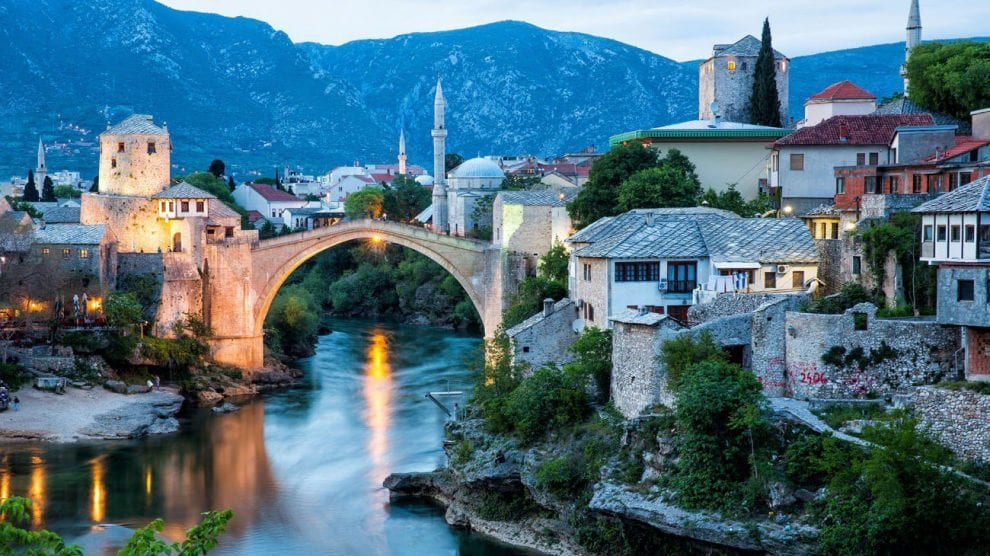 أين تقع البوسنة