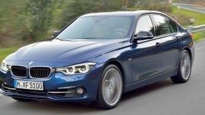 سيارة BMW الفئة الثالثة 2016