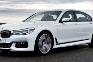 سيارة BMW الفئة السابعة 2016