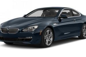 سيارة BMW الفئة السادسة 2014