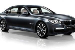 سيارة BMW الفئة السابعة 2014
