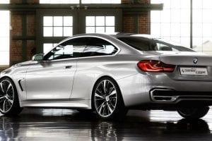 سيارة BMW الفئة الرابعة 2014
