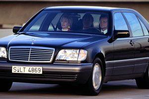 سيارة مرسيدس شبح