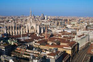 مدينة ميلانو في إيطاليا