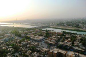 حي الزهور في بغداد