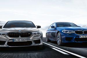 BMW m5 سيارة