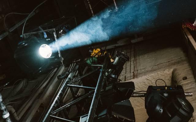 Lights backstage at Leeds Grand Theatre © Tom Arber