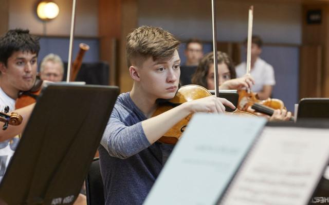 Opera North Orchestra Academy 2018 © Justin Slee