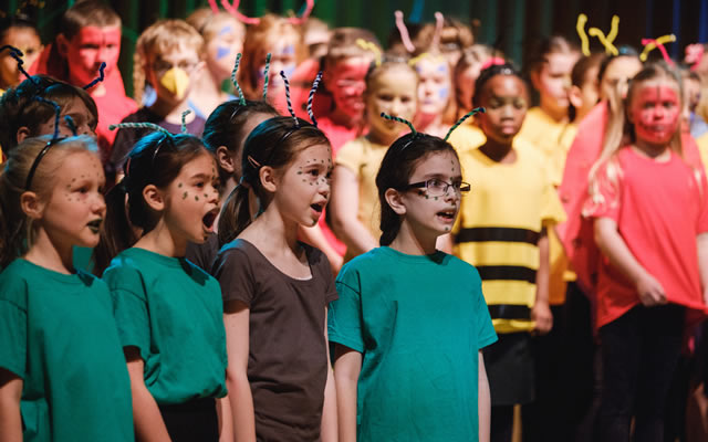 Opera North Children's Chorus © Tom Arber