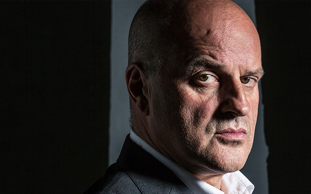 Image of Christopher Purves who takes the role of Bluebeard in Opera North's production of Bluebeard's Castle