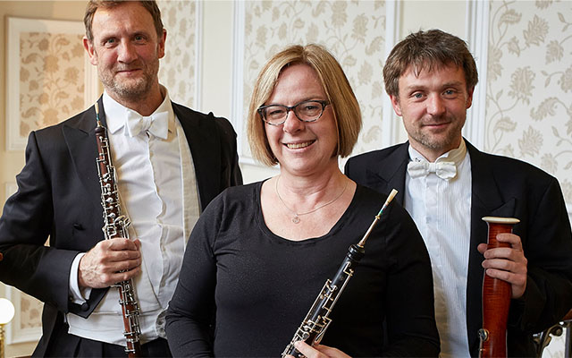Image of the Bassoon Oboe Harpsichord Trio