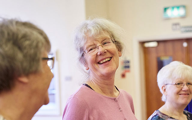 Members of the Opera North singing group for over 55s in Batley