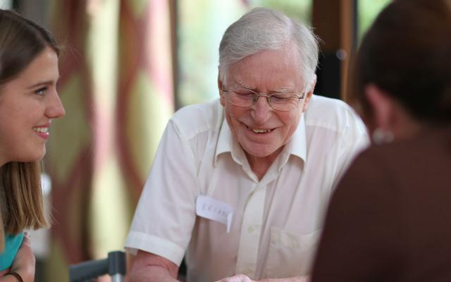 Engaging people living with dementia through music at Simon Marks Court in Leeds