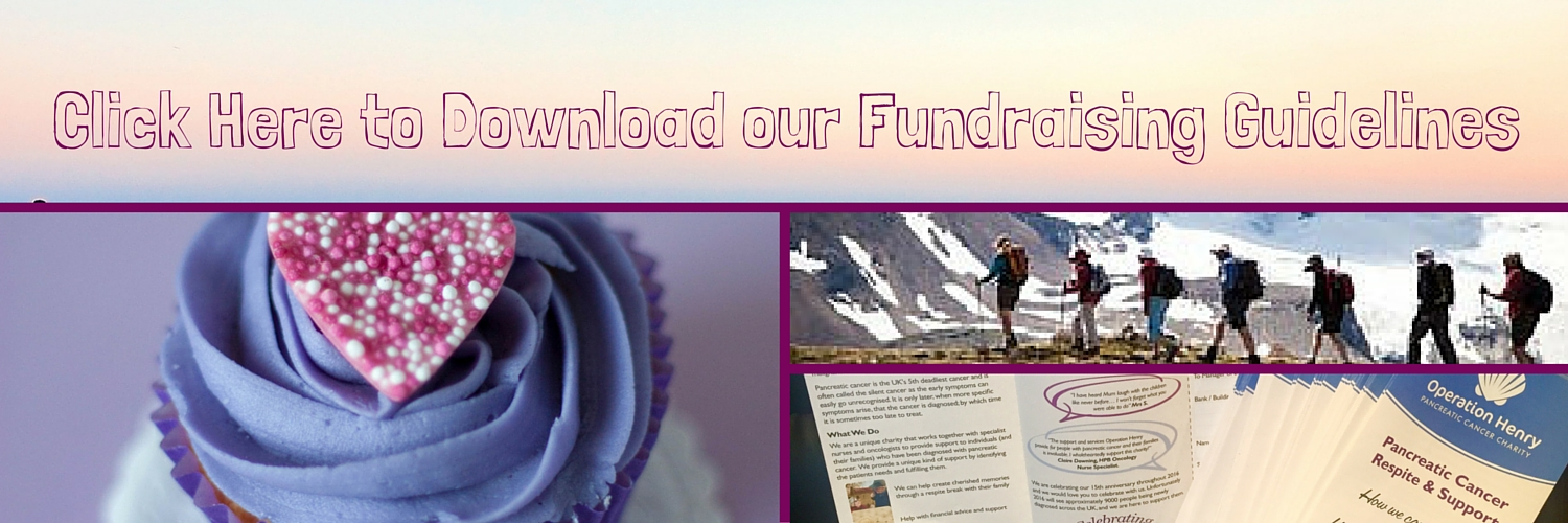 Click Here to Download our Fundraising Guidelines