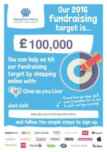 Help Reach our £100,000 target