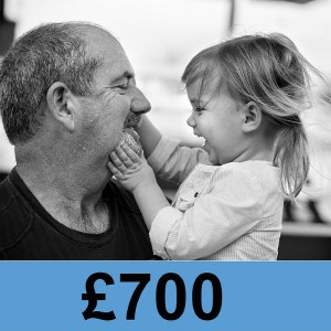Image of support and £700 could help fun childcare for 6 weeks