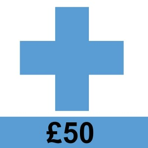 Image of support and £50 could help fund leaflets