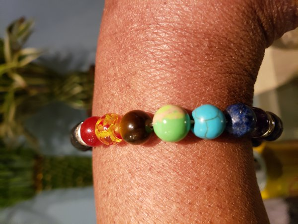 7 Chakra Bracelet image review by Perry Johnson