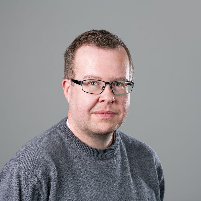 Portrettbilde av Lars-Erik Johnsson