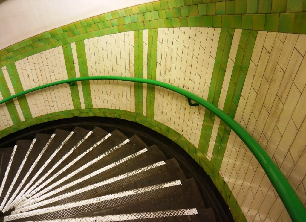 Goodge Street Stair Tiles