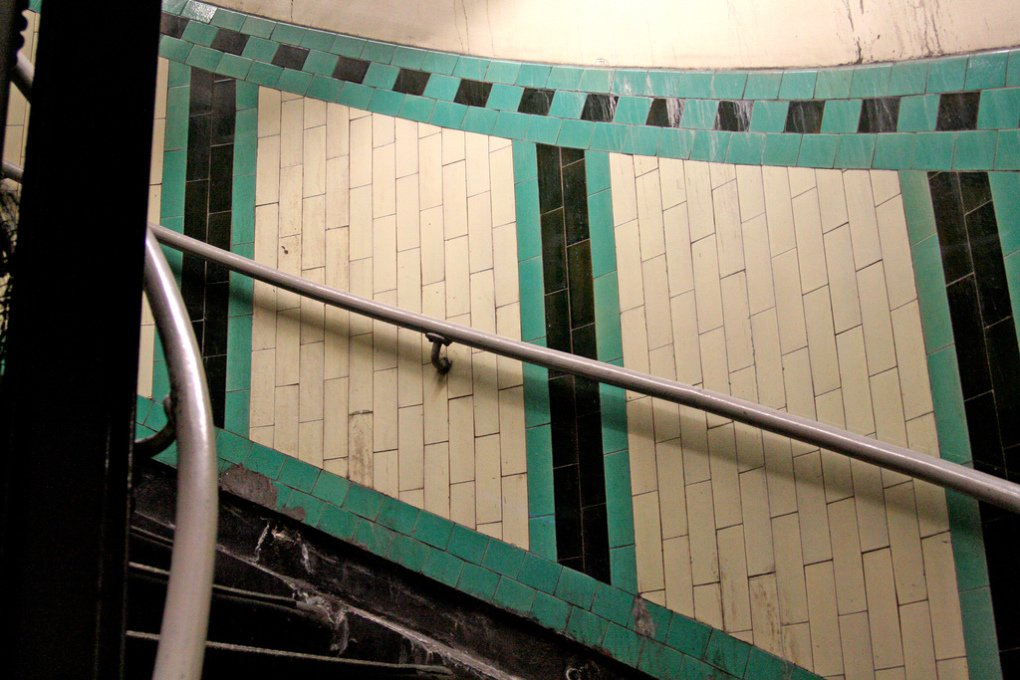 Russell Square Station Stairs