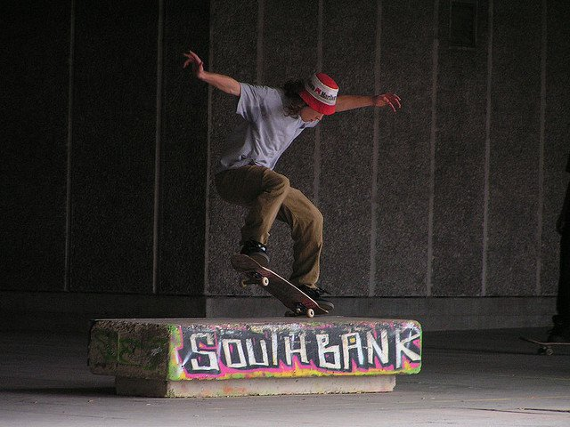Southbank Skate Park in central London is endangered and needs protecting