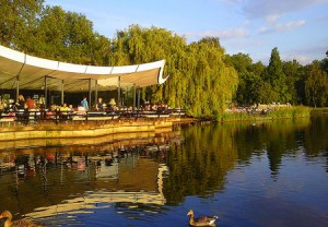 The Lido Café in Hyde Park