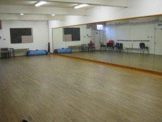 Wellfield Centre dance studio